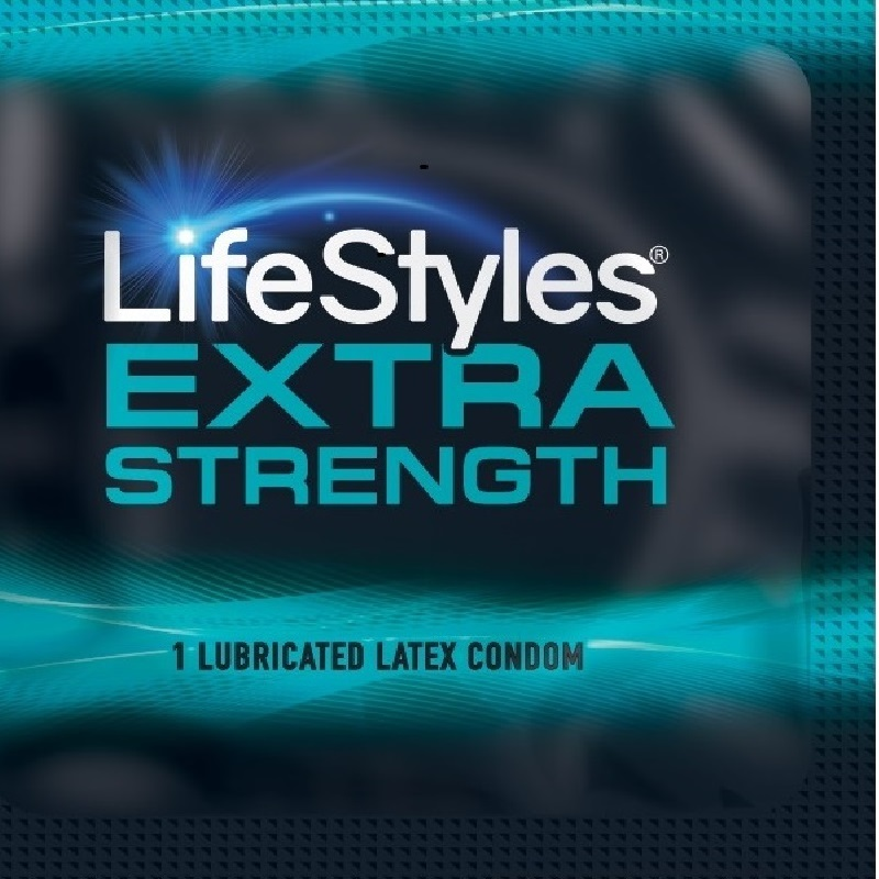 LifeStyles Extra Strength Condoms<br>(1008/case)