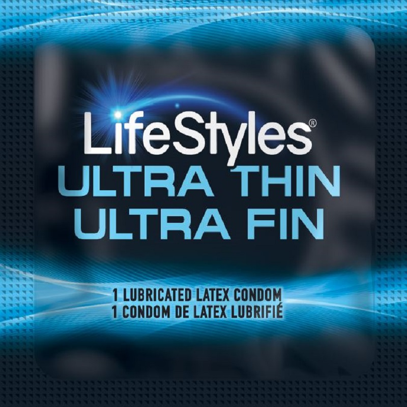 LifeStyles Ultra-Thin Condoms<br>(1008/case)