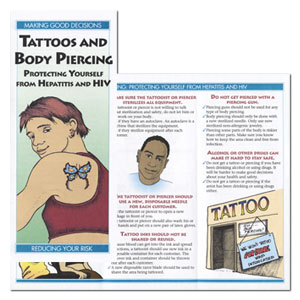 Tattoos & Body Piercing: Protecting Yourself From Hepatitis & HIV
