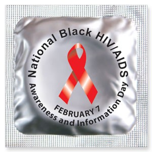 National Black HIV/AIDS Awareness Day Condoms (Feb. 7)