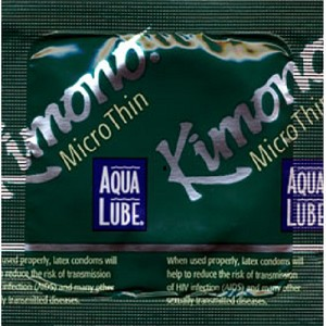 Kimono Micro Thin with Aqua Lube<br>(144/box)