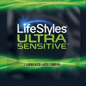 LifeStyles Ultra Sensitive Condoms<br>(1008/case)