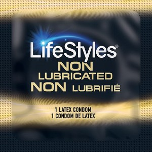 LifeStyles Ultra Sensitive Non-Lubricated Condoms<br>(1008/case)