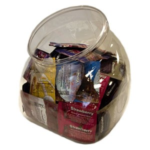 Trustex Assorted Flavors Condoms<br>(144/ Jar)
