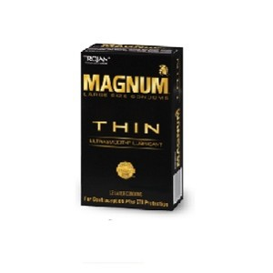 Trojan Magnum Thin Condoms (12 Packs)